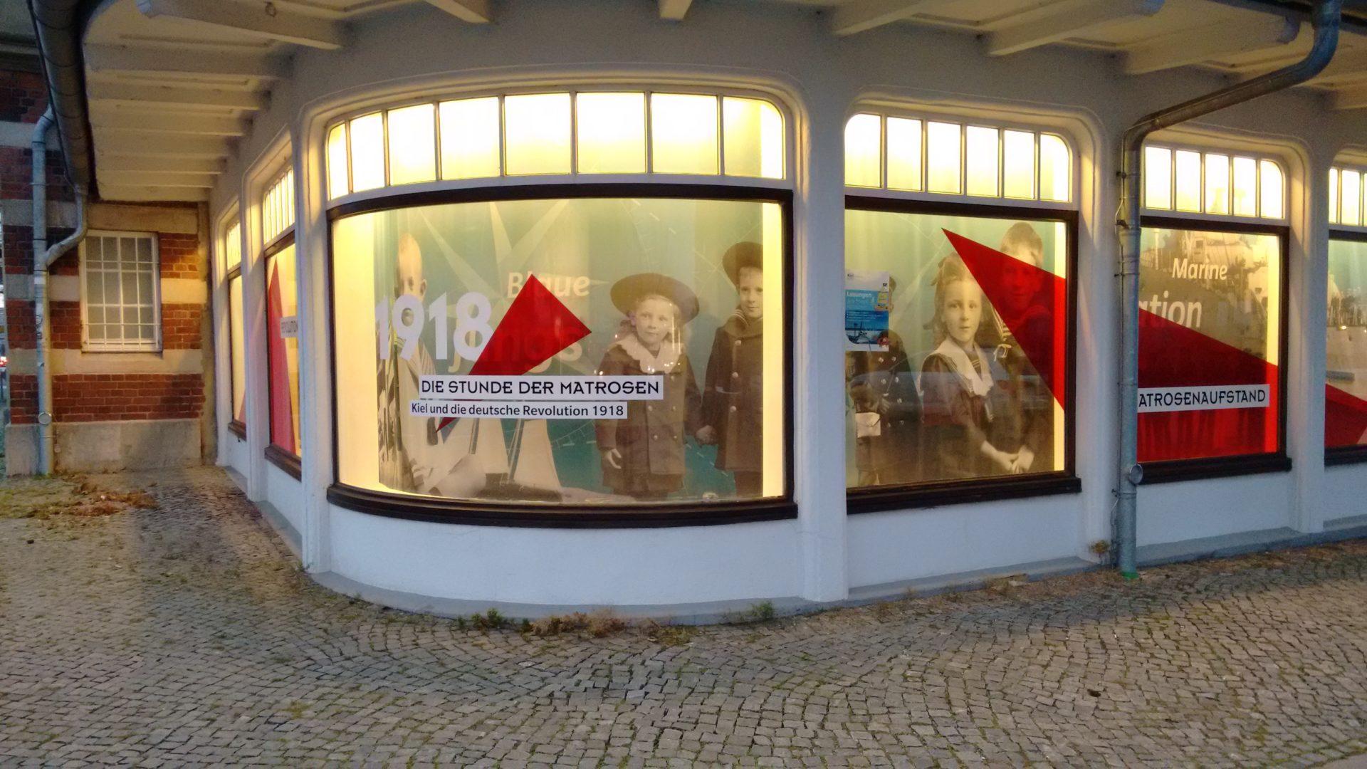 1918. Un vent de révolution souffle à Kiel.