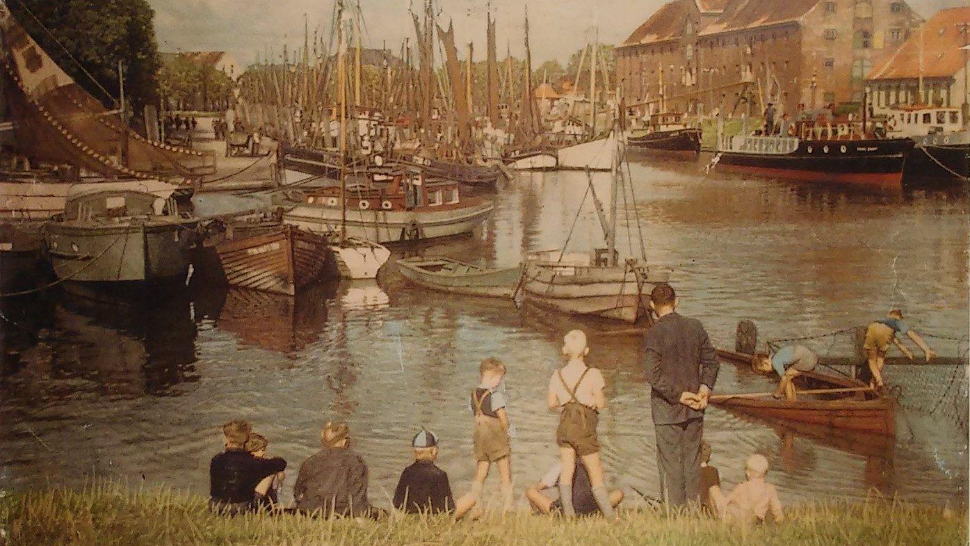 Le port historique de Tönning