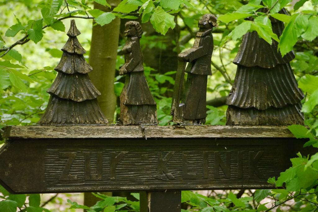 Dans le parc d'Aukrug — La forêt thérapeutique de Tönsheide